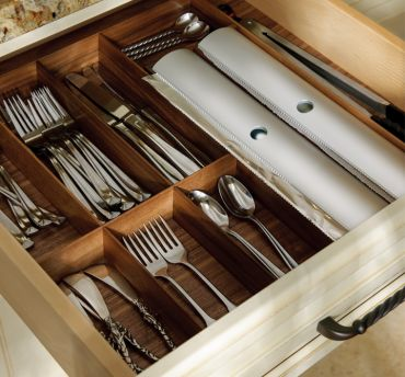 Walnut Drawer Inserts