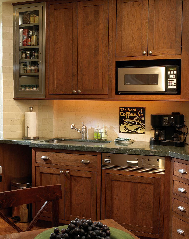 Stylishly Sleek Kitchen Cabinets | Plain & Fancy Cabinetry