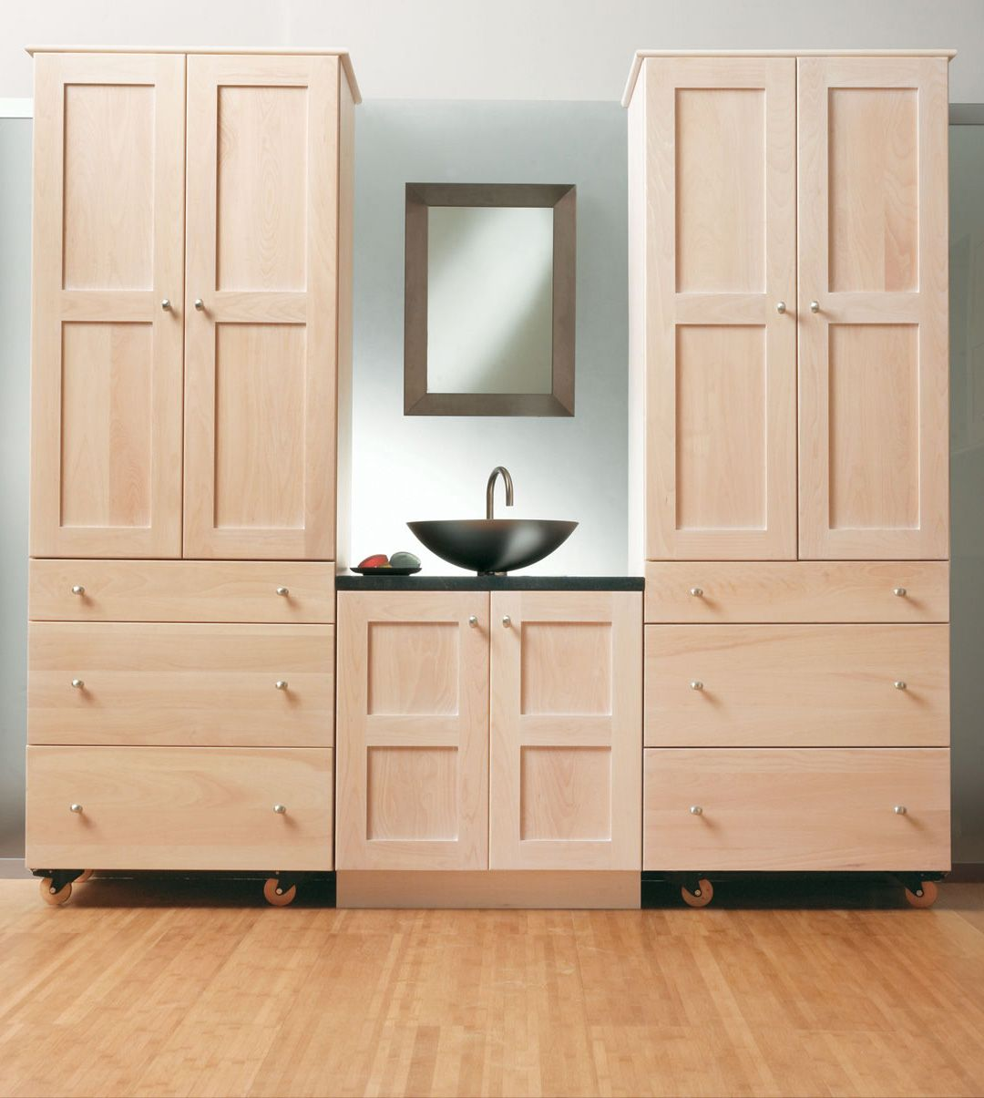 Stack And Store Bathroom Cabinets Plain Fancy Cabinetry - Bathroom furniture stores near me