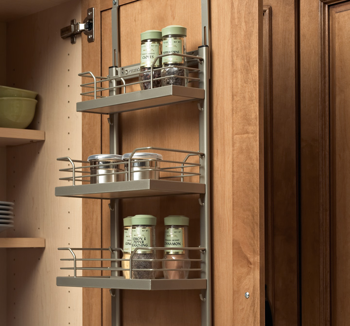 Spice Rack On Wall Wall Spice Rack  Accessories  Plain & Fancy Cabinetry