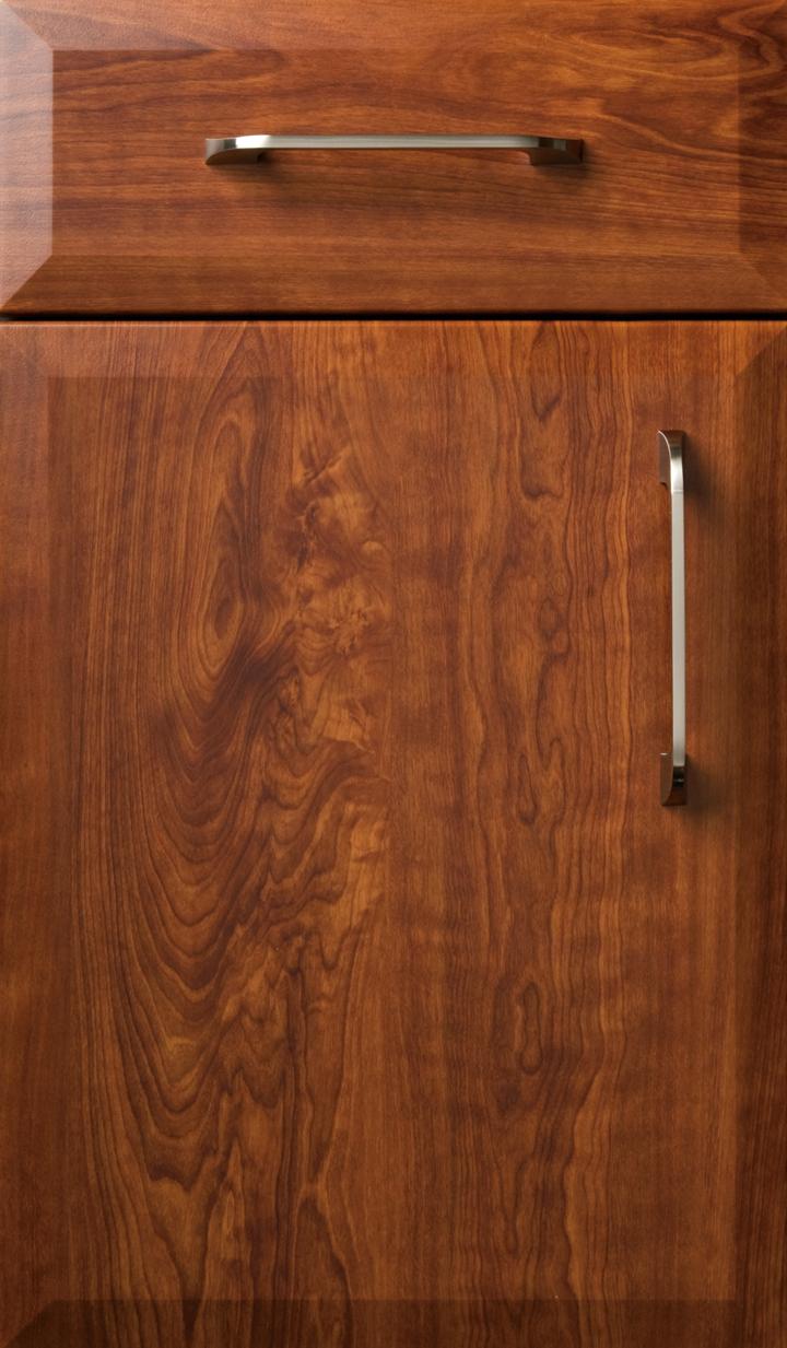 Novara Dark Cherry Satin Plain Amp Fancy Cabinetry