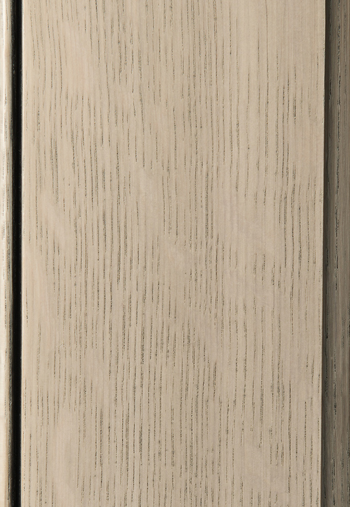 Quarter Sawn White Oak Silver Shore Plain Amp Fancy Cabinetry