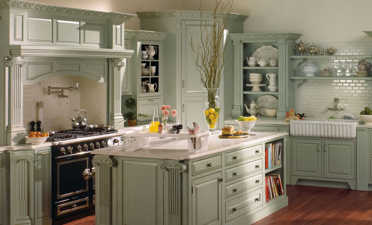 French Country Kitchen Cabinets | Plain & Fancy