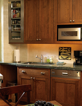 The frame can also be decorative, adding to the overall appeal of the cabinet and the look of the kitchen as a whole. Around 1990, Plain & Fancy introduced ...