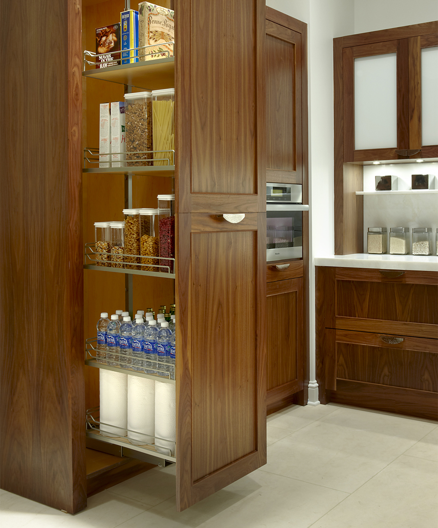 Plain Fancy Tall Pantry Pull Out House Ideas Pinterest