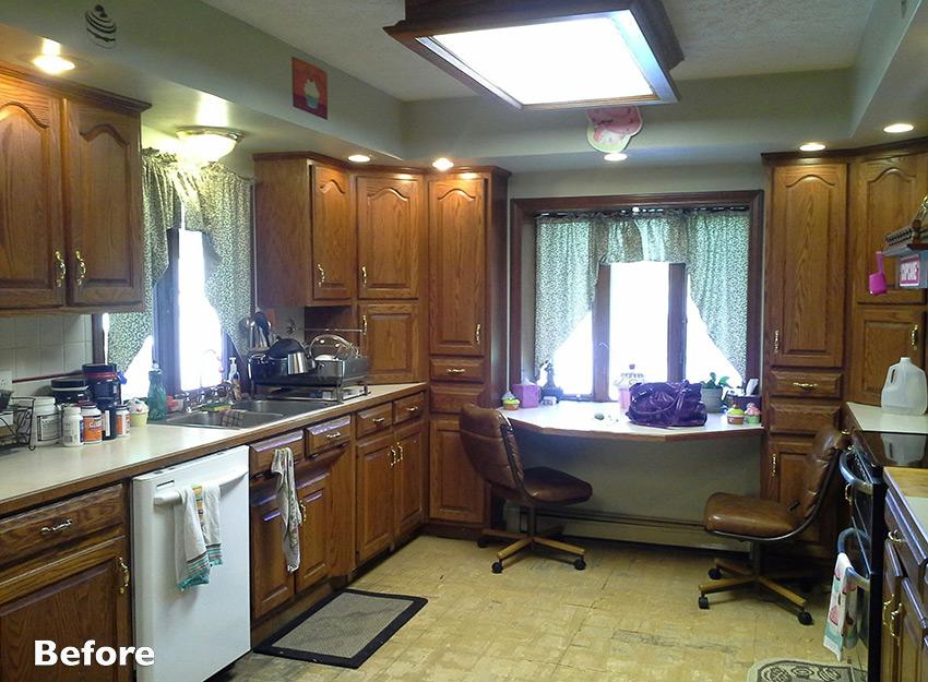 Before Kitchen Photo