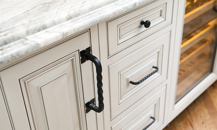 wrought iron cabinet hardware