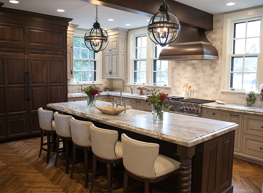 English Tudor Kitchen Remodel