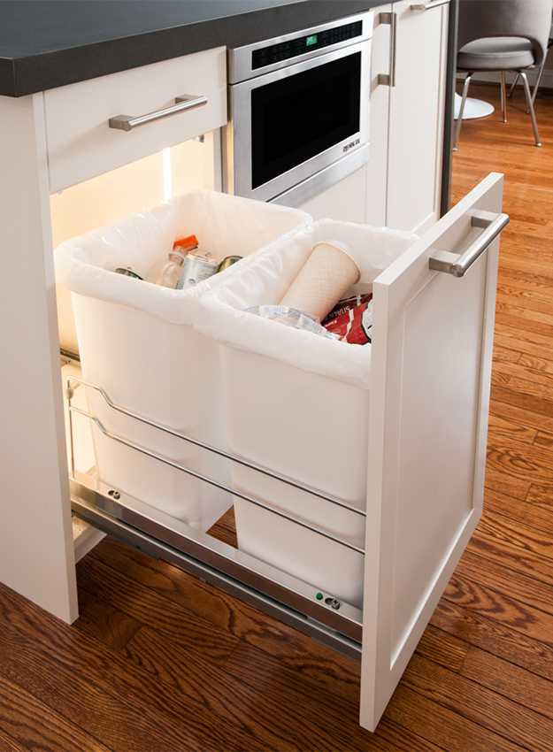 Waste Basket Storage Accessory