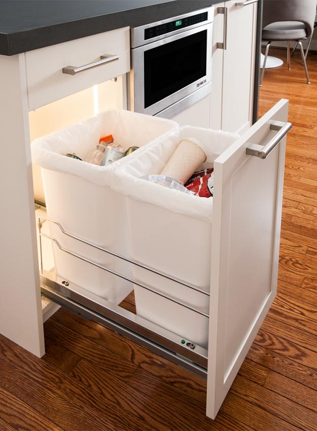Waste Basket Storage Accessory