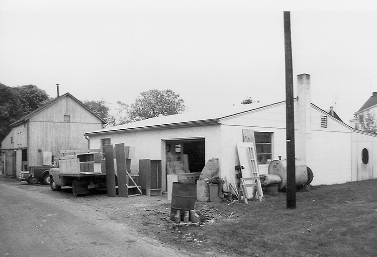 Garage where Plain & Fancy Started