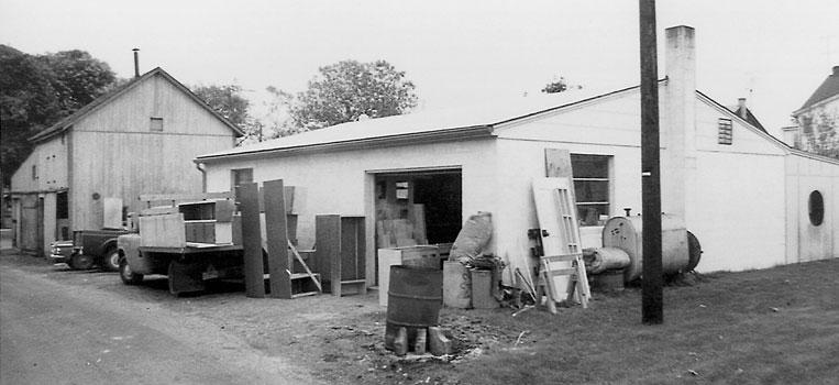Plain and Fancy Garage
