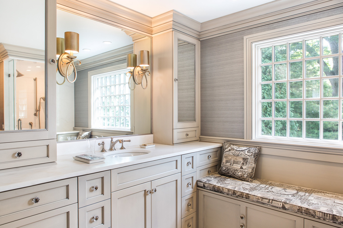 Remarkable Top Bathroom Trends Of 2019 Plain Fancy Cabinetry Interior Design Ideas Jittwwsoteloinfo