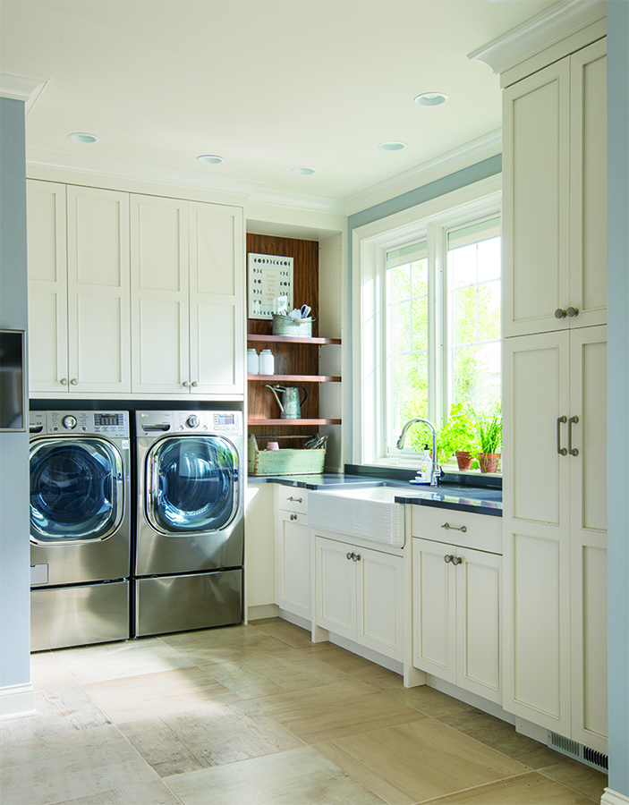 Get more Space Out of Your Laundry Room And Other Small ... on Small Laundry Room Cabinets  id=17217
