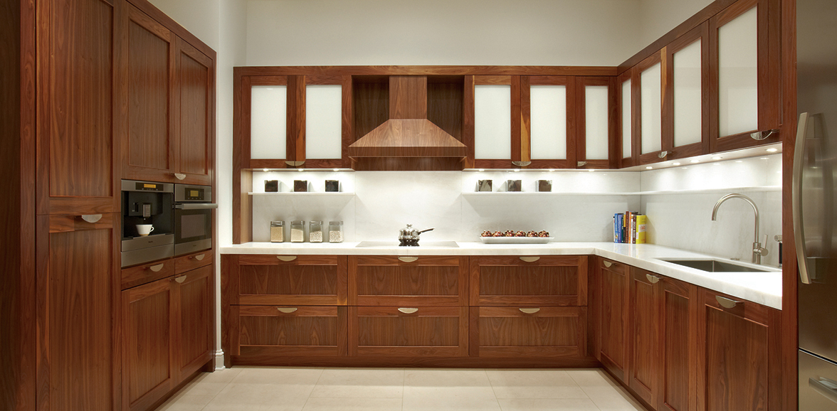 Walnut Kitchen Cabinets Selection Stain Challenges More Plain Fancy Cabinetry