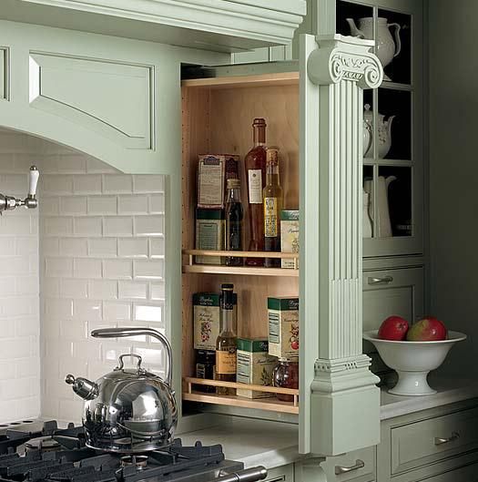 Cottage Kitchen Cabinets: Plain & Fancy Cabinetry