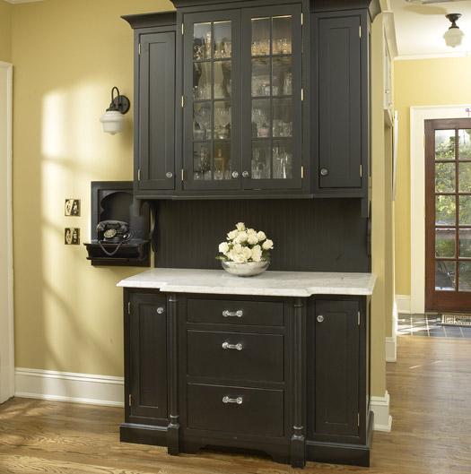 Plain Kitchen Cabinets: Custom Kitchen Cabinets In Black, White & Chic Plain & Fancy