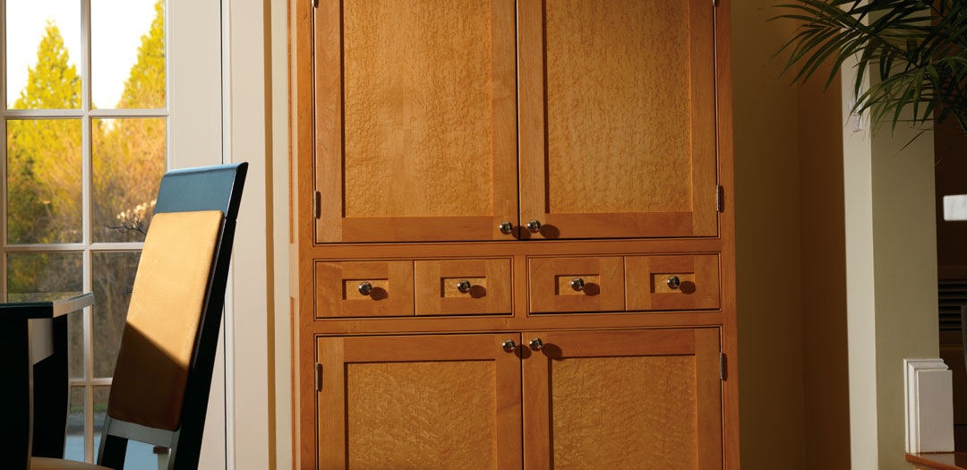 Custom Cabinetry in Upright Elegance