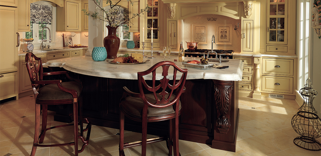 Traditional Kitchen Built for Entertaining