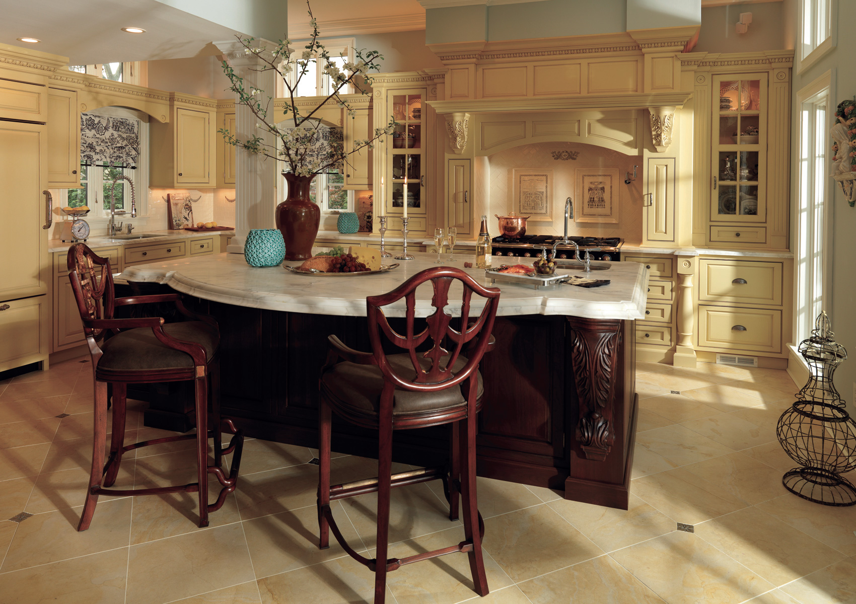 Love is Grand with these Kitchen Cabinets