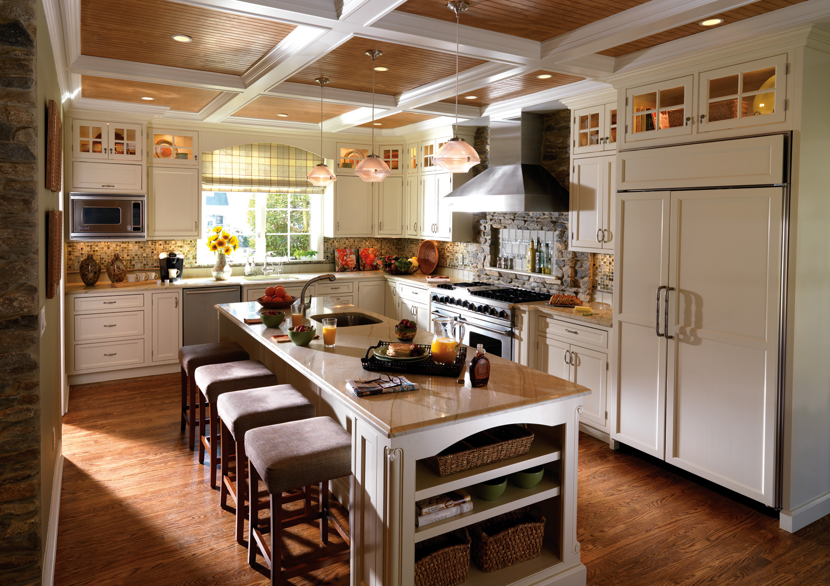 Kitchen cabinets that are the fitting attraction for Crafty kitchen ideas