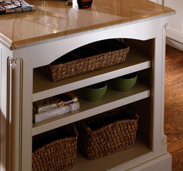 Cabinets That Are The Fitting Attraction Plain & Fancy