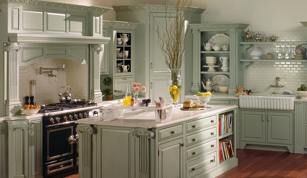 Traditional Kitchen Cabinets Are A Retreat Custom Cabinetry Project