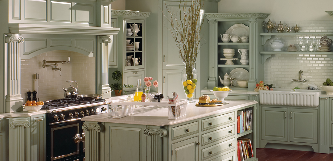 Traditional Kitchen Cabinets are a Retreat
