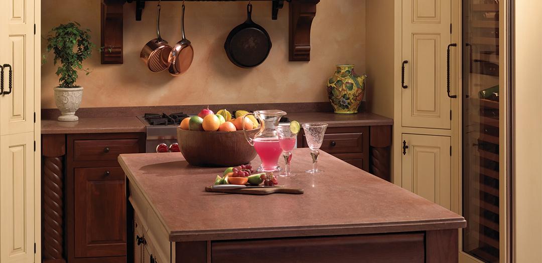 Kitchen Cabinets with Palladian Panache
