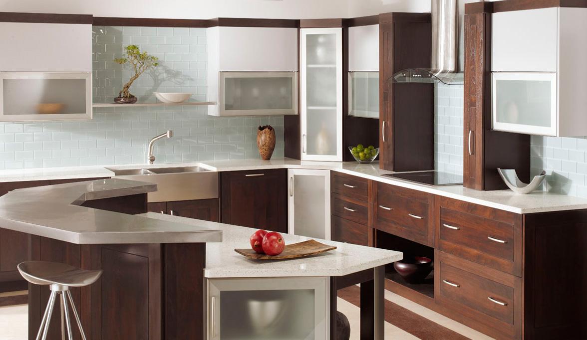Attractive Plain U0026 Fancy Custom Cabinetry