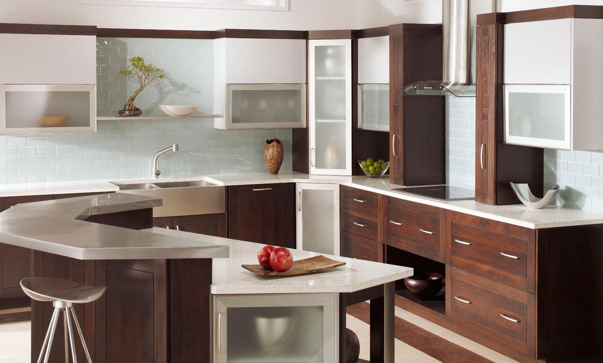 kitchen cabinets with distinct modern look plain fancy