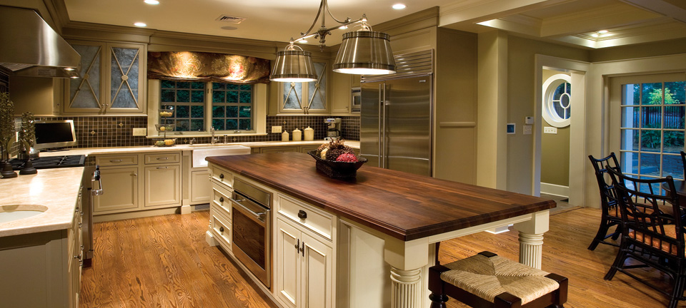 Traditional Kitchen with Charm and Polish Plain & Fancy