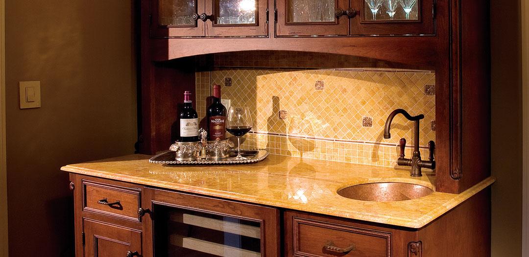 Wine's Playground of Custom Cabinetry