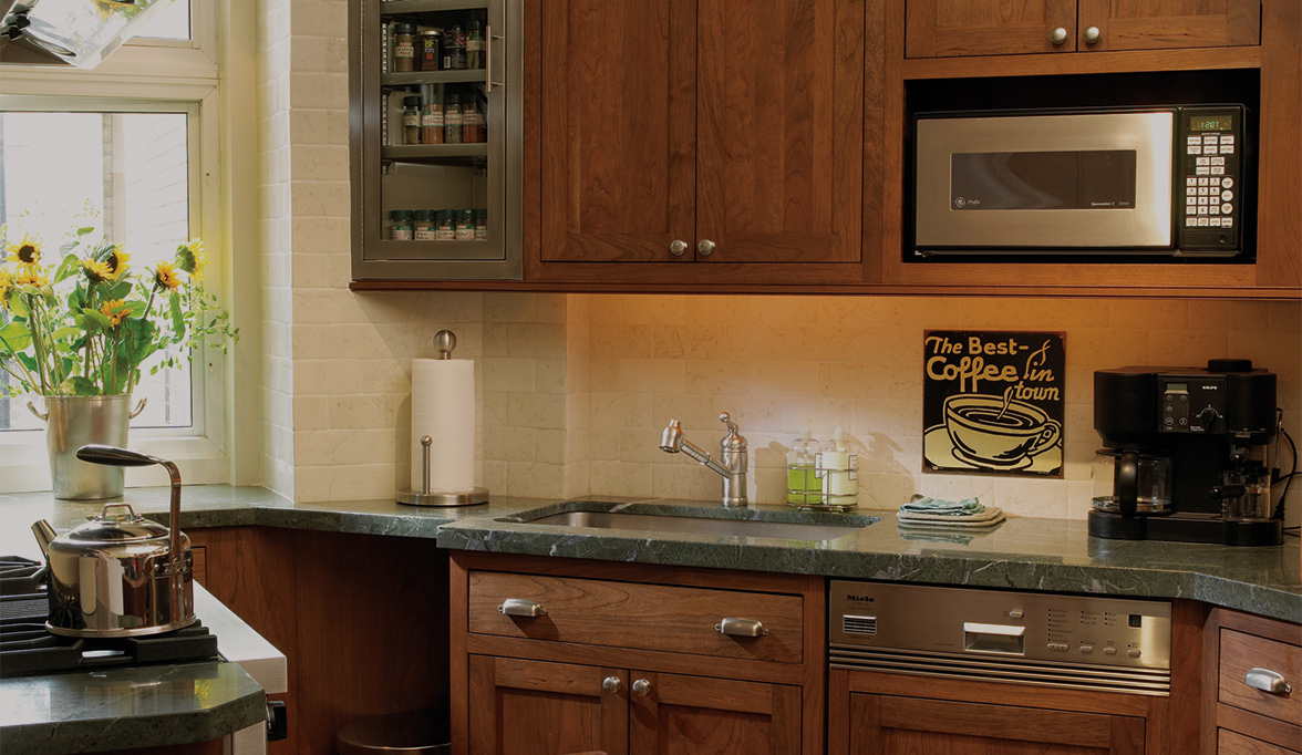 Stylishly Sleek Kitchen Cabinets Part 13