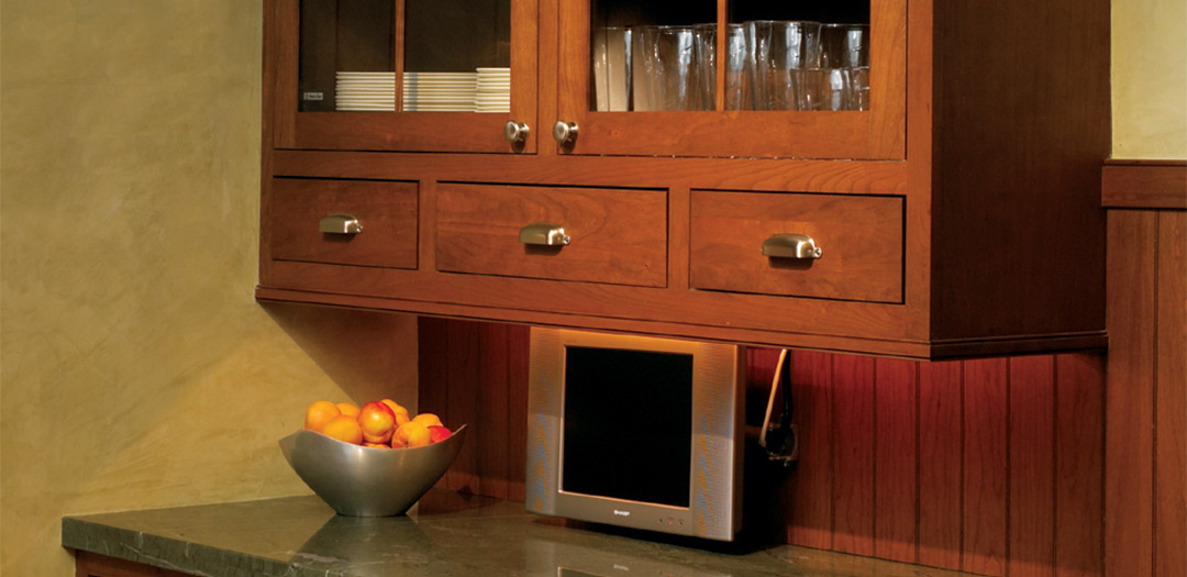 Custom Cabinetry is a Collectors Corner