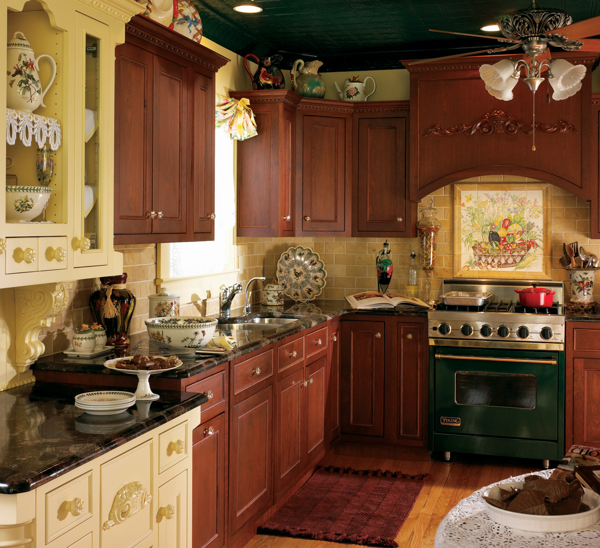 custom kitchen cabinets with delicate ornate style plain