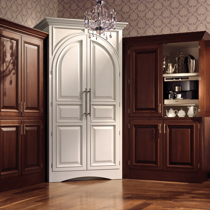 Plain fancy custom closet cabinets plain fancy for Kitchen wardrobe cabinet
