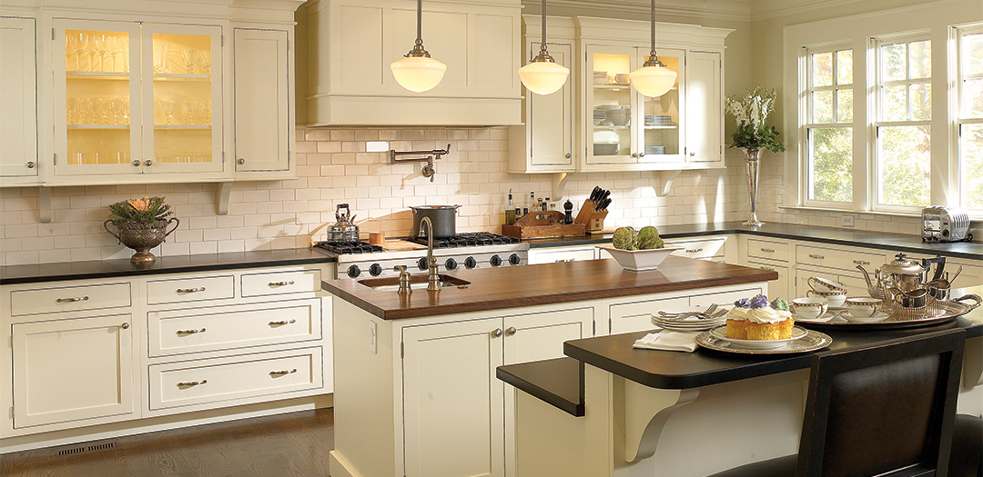 Open and Airy Contemporary Kitchen Cabinets