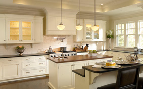 Contemporary Luster Custom Cabinets
