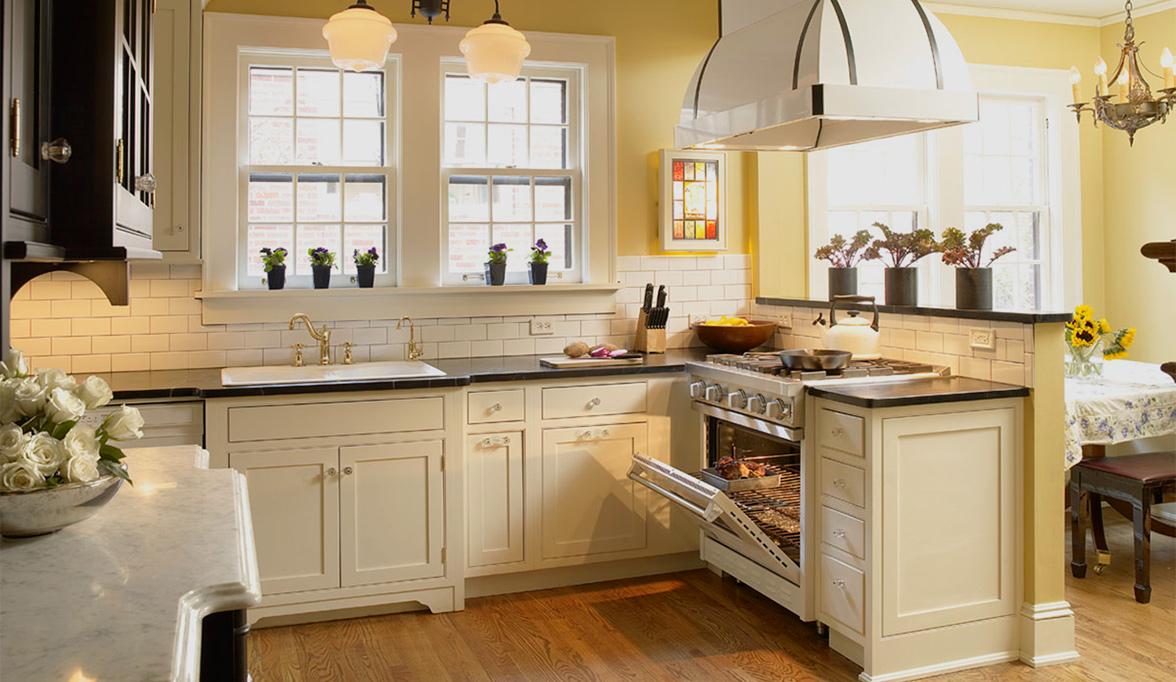 Kitchen Cabinets in Black, White & Chic Plain & Fancy ...