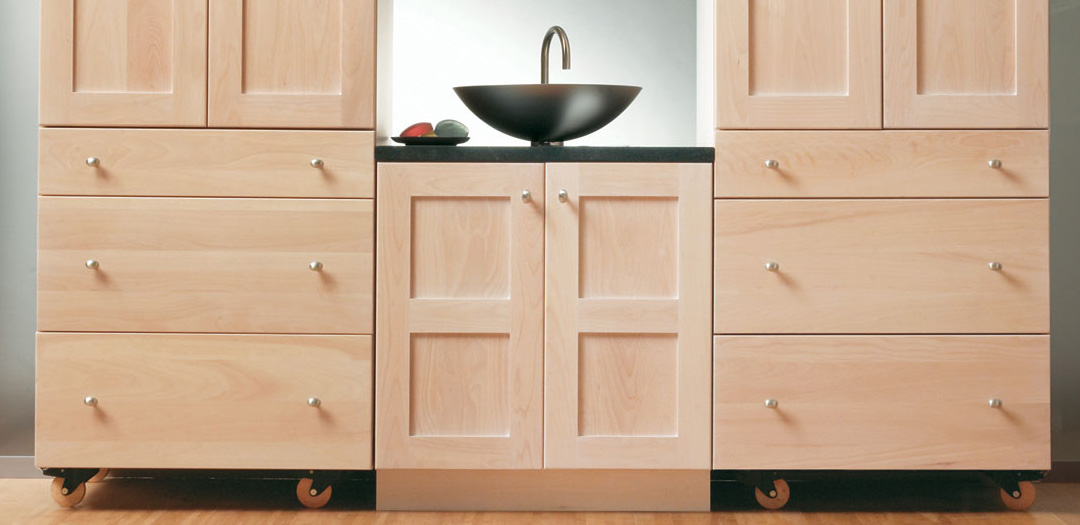 Stack and Store Bathroom Cabinets