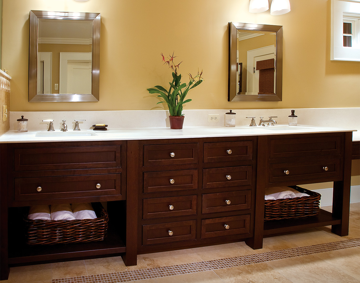 Fancy Bathroom Vanities Arts & Crafts Style Bathroom Cabinets  Plain & Fancy Cabinetry