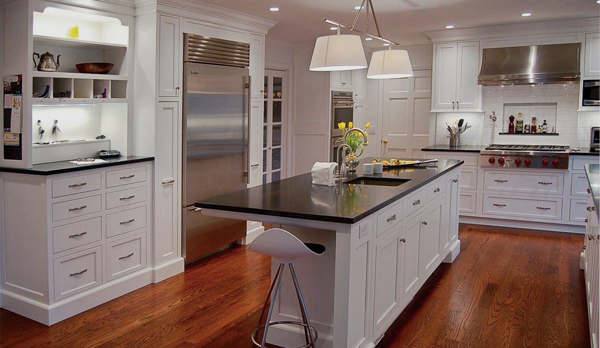 White Luster Kitchen Cabinets Plain Amp Fancy Cabinetry