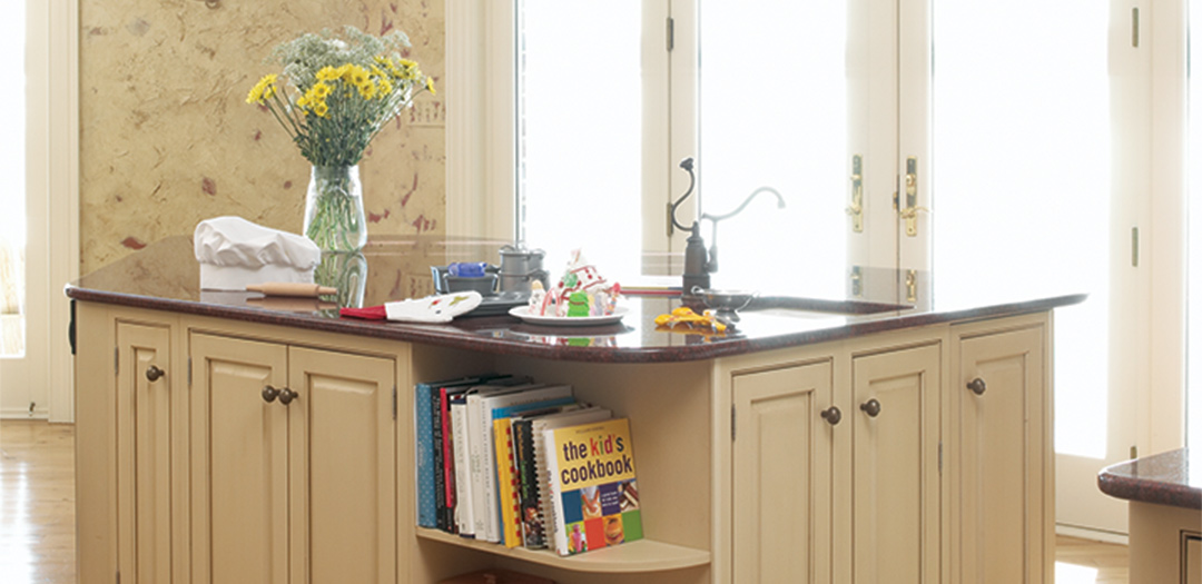 Custom Kitchen Cabinets Traditionally Neutral