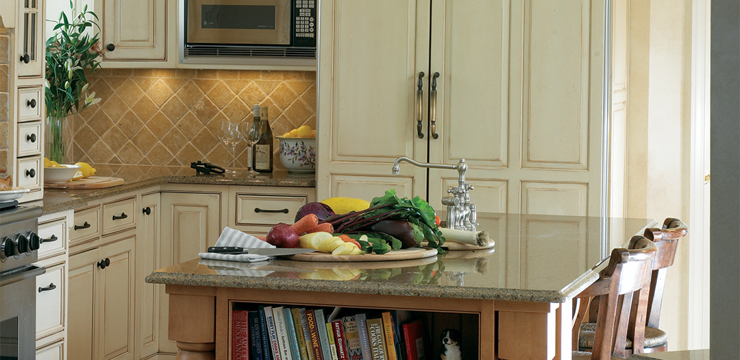 Traditional Kitchen with a Sense of History and Place