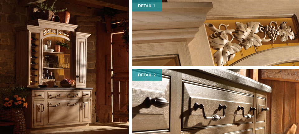 Custom Cabinetry for Lovers of the Vine