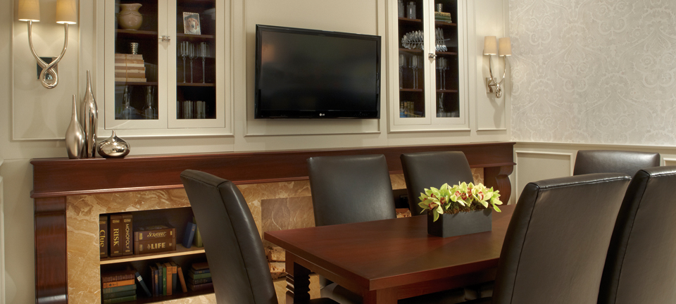 Polished Custom Cabinetry for the home office