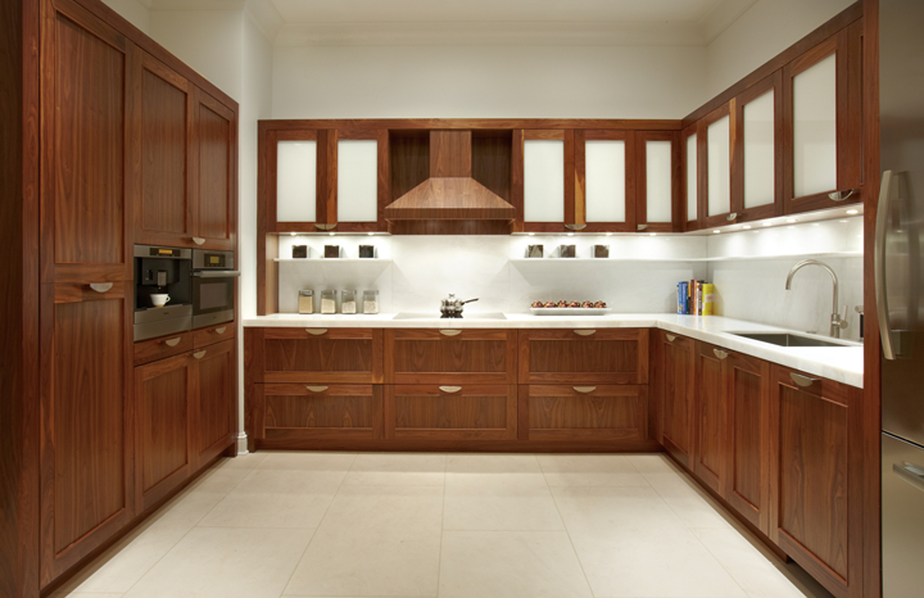 Kitchen Cabinets Images Pleasing Of Walnut Kitchen CabiDesigns Photos
