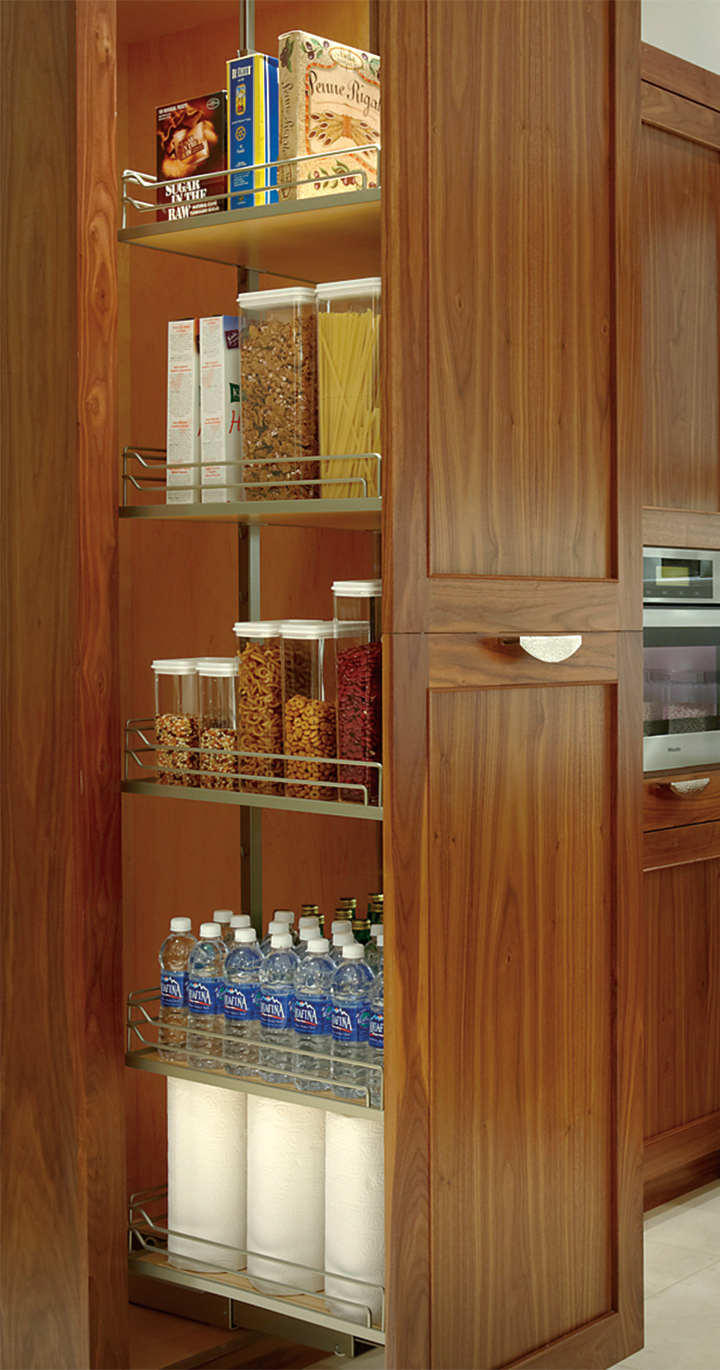 Walnut Kitchen Cabinets Custom Kitchen Cabinets In Natural Walnut  Plain & Fancy Cabinetry
