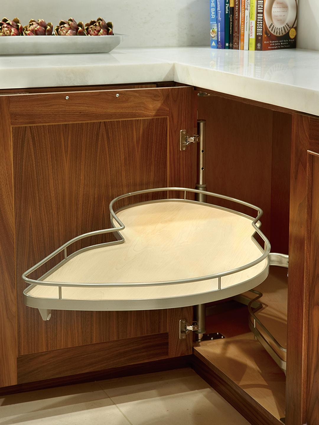 custom kitchen cabinets in walnut
